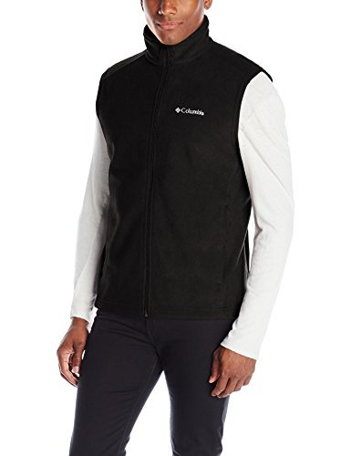 Columbia Men's Steens Mountain Vest, Black, Small