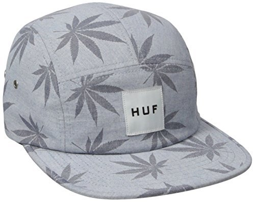 HUF Men's Plant Life Volley, Blue, One Size