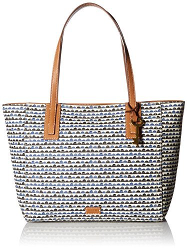 Fossil Sydney Tote,Black/Multi,One Size