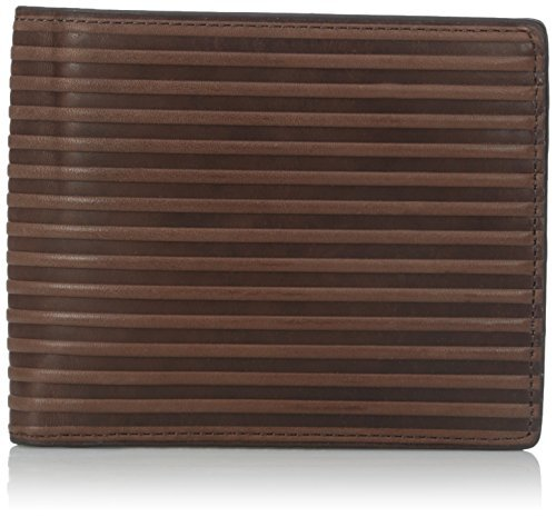 Fossil Men's Avery Bifold, Dark Brown, One Size