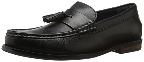 Cole Haan Men's Pinch Friday Tassel Contemporary Penny Loafer, Black Handstain, 7 M US