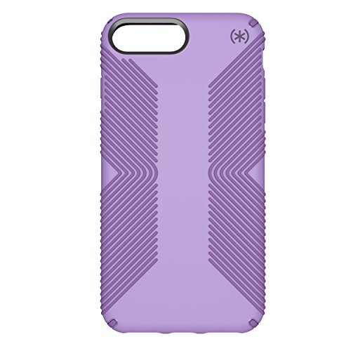 Speck Products Presidio Grip Case for iPhone 8 Plus, Aster Purple/Heliotrope Purple