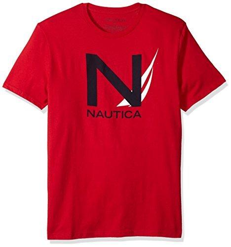 Nautica 男士短袖 Signature Graphic Crewneck T恤